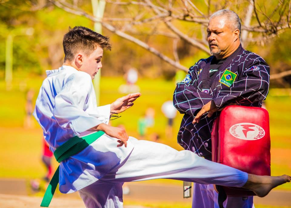 Treinamento Taekwondo Curupira Ribeirão Preto