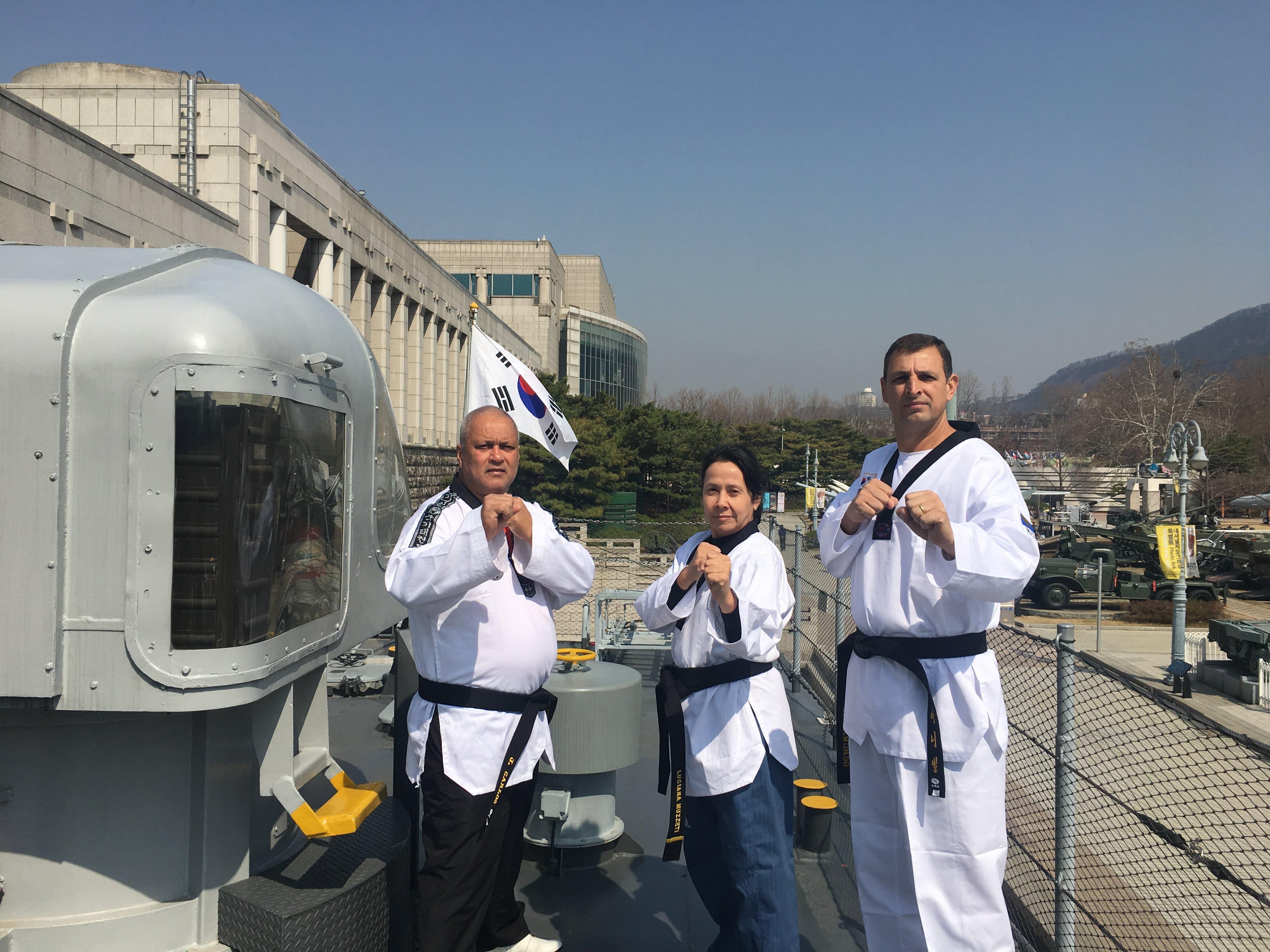 Liga Ribeirão Preto de Taekwondo na Coréia