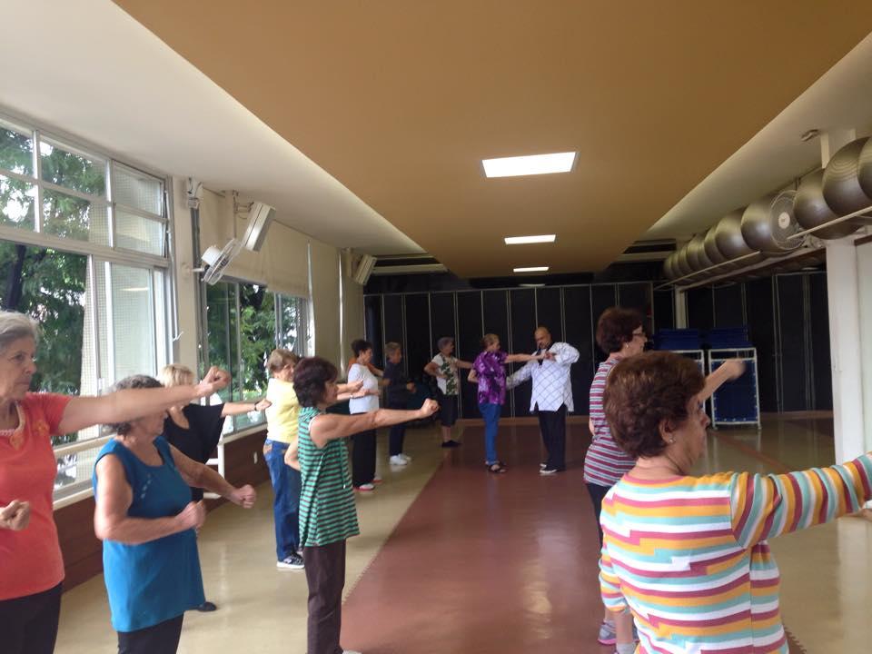 Oficina de Taekwondo para Melhor Idade no SESC em Ribeirão Preto 2015